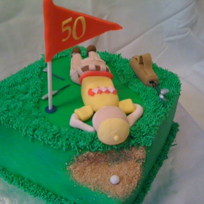 Angry Golfer Birthday