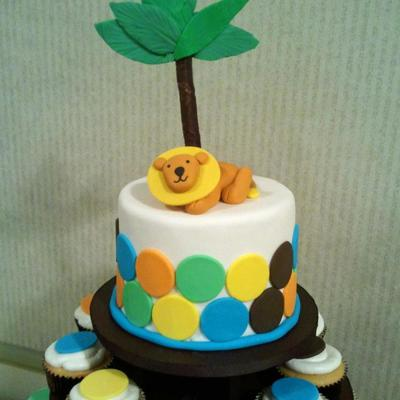 King Of The Jungle Cake
