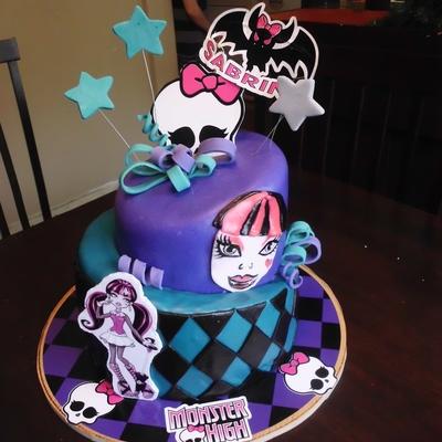 Monster High Doll Cake Pops