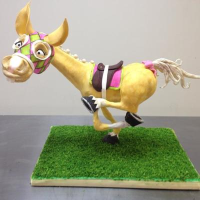 Meet Galloping Glenda Made In Kaysie Lackeys Galloping Gus Cake Class At Sweet Wise In Nashville Kaysie Lackey Is A Fabulous Decorator on Cake Central