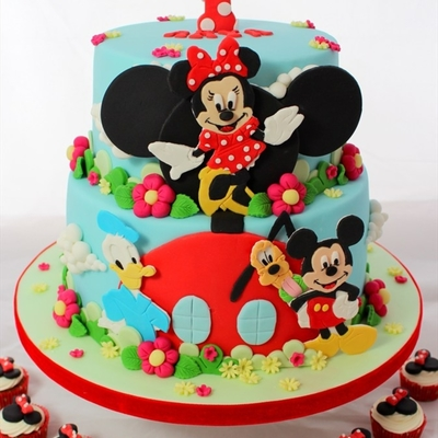 Mickey Mouse Clubhouse And Friends Cake For Arya