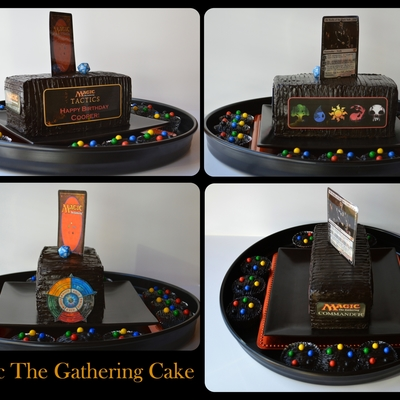 Magic The Gathering Surprise Inside Cake