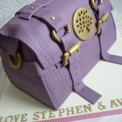 Mulberry Handbag Birthday Cake