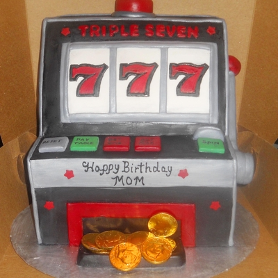 Slot Machine Cake