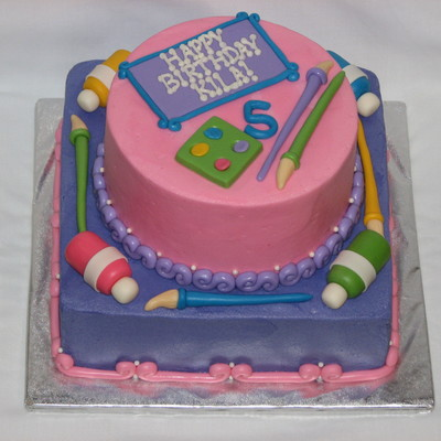 An Art Cake For A Princess Tfl