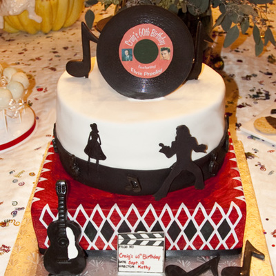 Elvis Cake For A 60Th Birthday