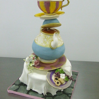 I'm A Little Teapot on Cake Central