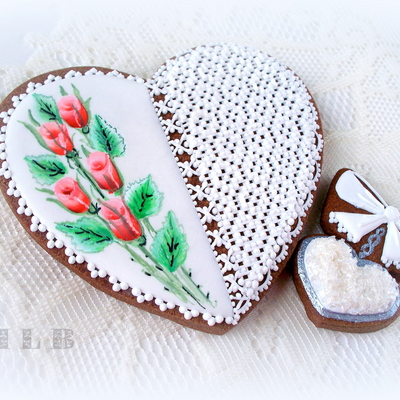 Lace Heart Cookie...