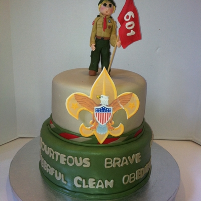 Boy Scout Court Of Honor Cake