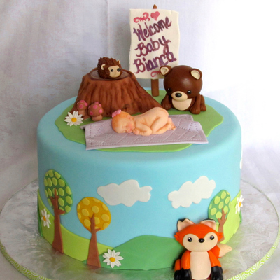 Woodland Critter Baby Shower