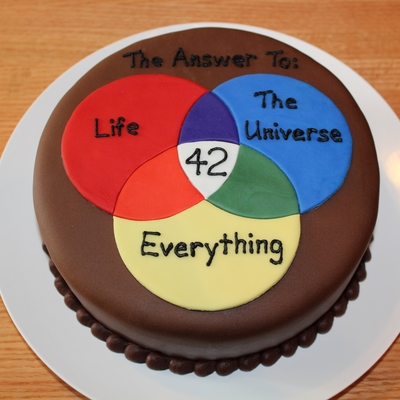 Hitchhiker S Guide To The Galaxy Cake Ideas