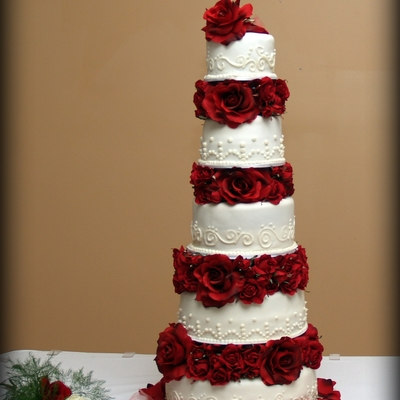 Homemade Wedding Cake.Homemade Wedding Cake Photos