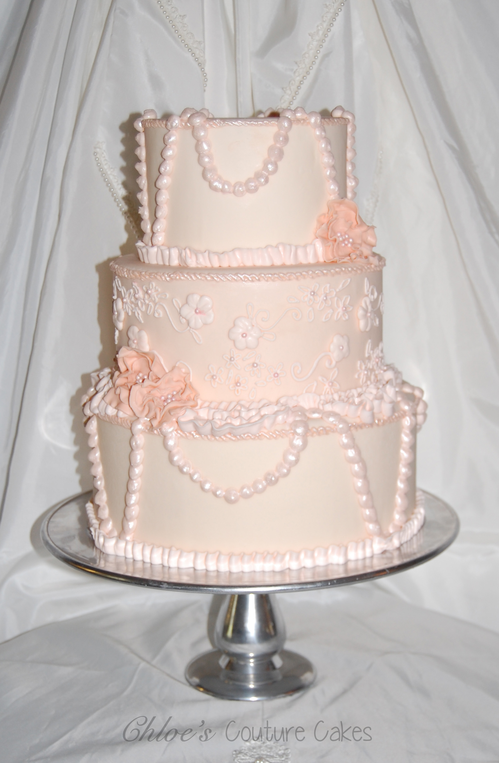 Top Cakes with Pearls CakeCentral