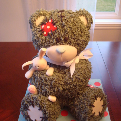 My Teddy Bear Base On The Tutorial From Bake A Boo