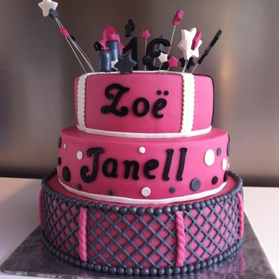 Sweet 16 Cake For Zo? Janell