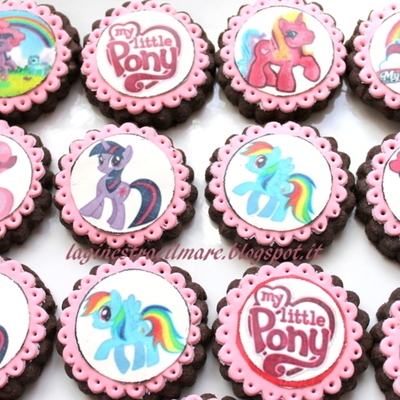 My Little Pony Cookies Gluten Free
