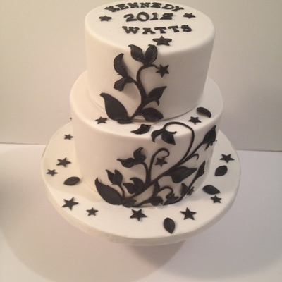 New Year's Theme Cake