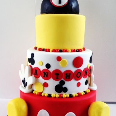Mickey Mouse (1St Birthday)