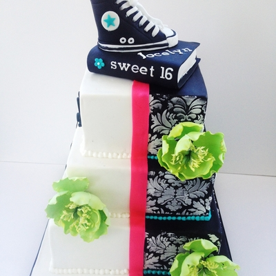 Nerds Sweet 16 Cake