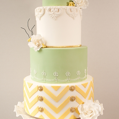 Cake Central Magazine Wedding Cake