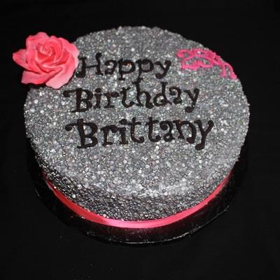 Glitter Cake Decorating Photos
