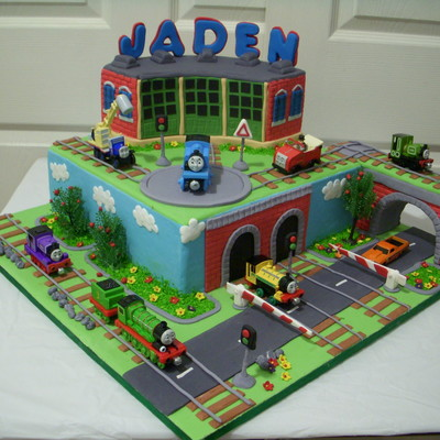 Top Thomas & Friends Cakes CakeCentral