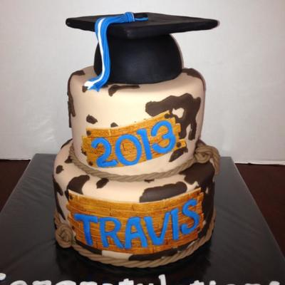The Graduate Wanted A Cowhide Cake