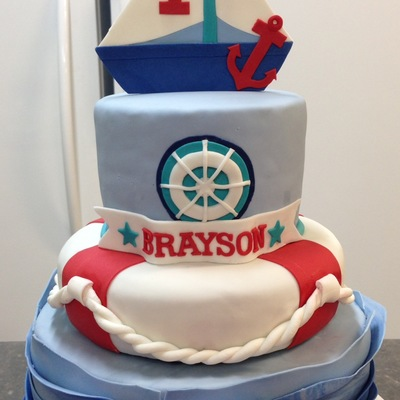 Sailor Theme Cake For My Great Nephew O