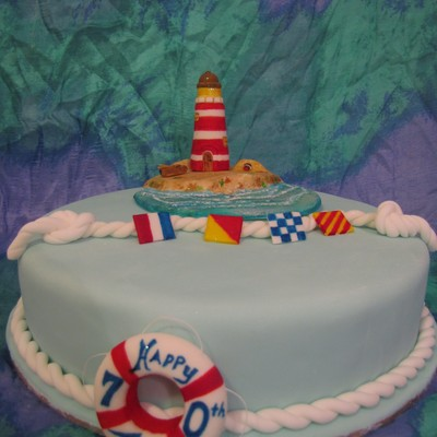 Lighthouse Keepers Birthday! (5Th Cake)