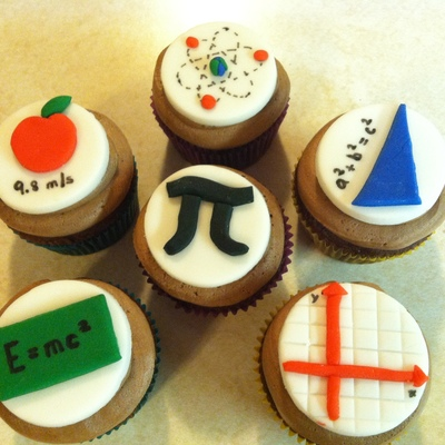 Math And Science Cupcakes