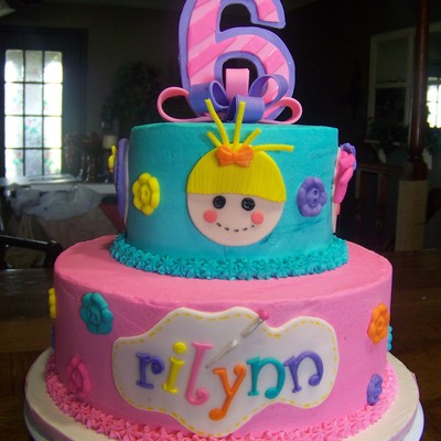 Lalaloopsy Cake For My Cousins Daughter