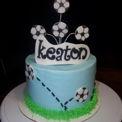 Marble Cake With Smbc Filling For A Soccer Playing Friend