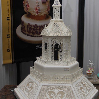 All Decoration And Chapel Made In Royal Icing