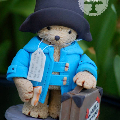 Paddington Bear Cake Topper