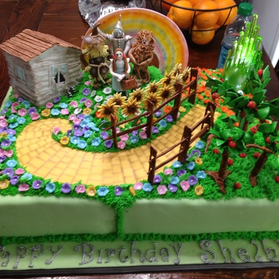 Wizard Of Oz Cake For 4 Year Old Birthday