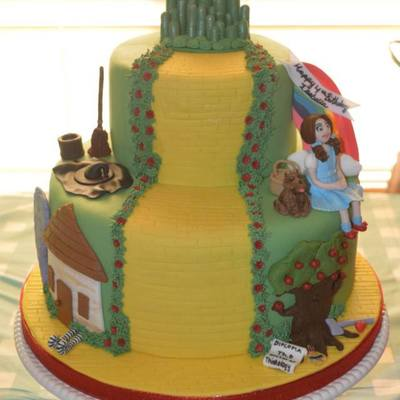 Wizard Of Oz Birthday Cake