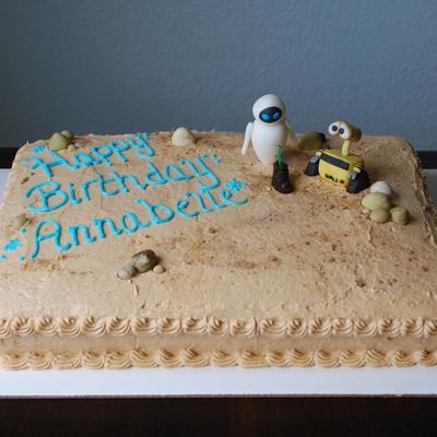 Disney's Wall-E Sheet Cake