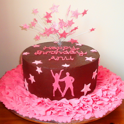 Strictly Come Dancing / Dancing With The Stars Birthday Cake