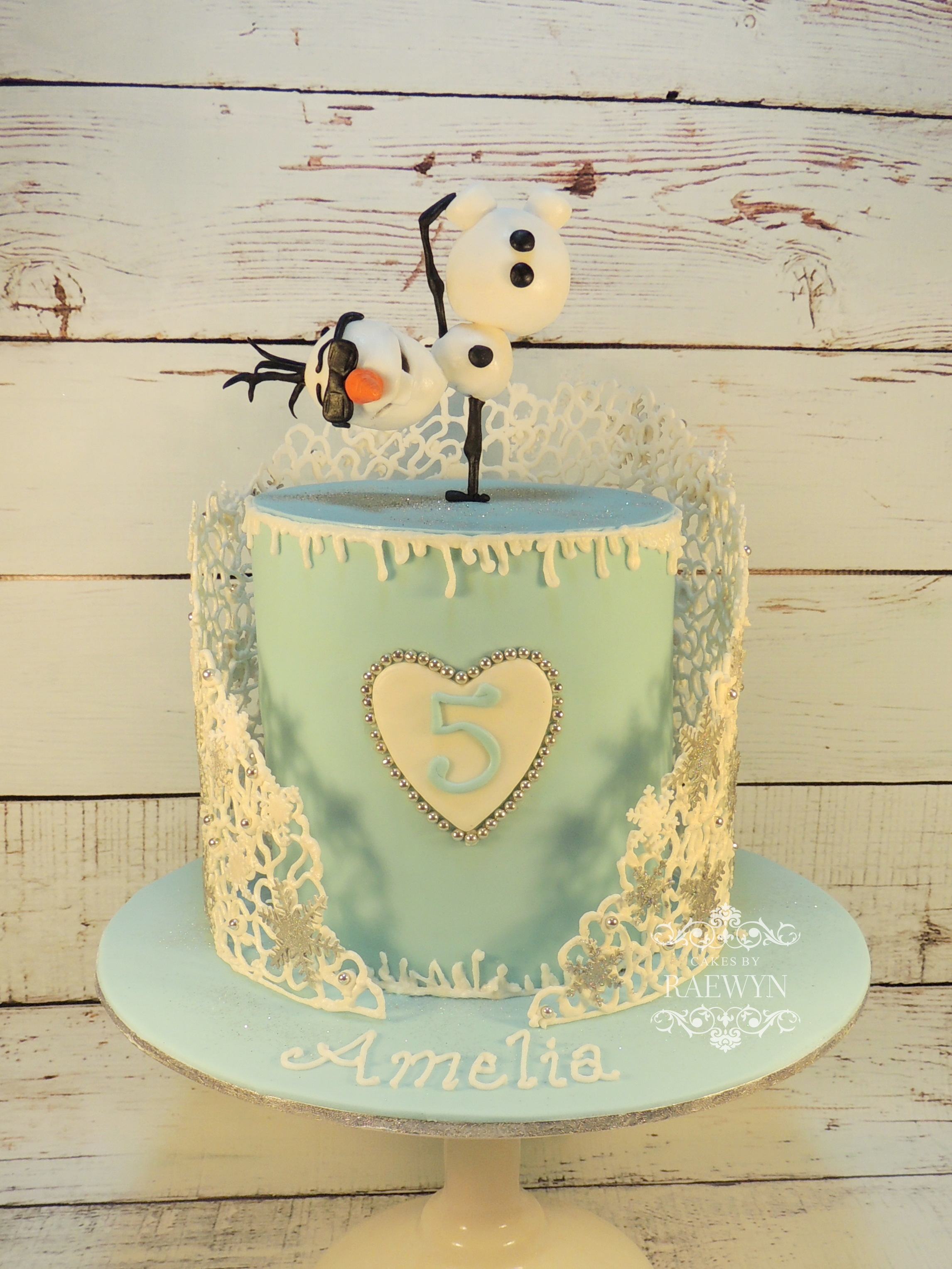 Another Frozen Cake! :)