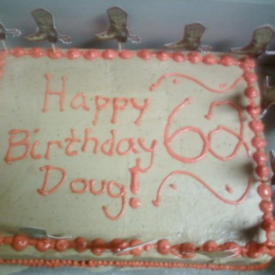 Doug's Birthday Cake