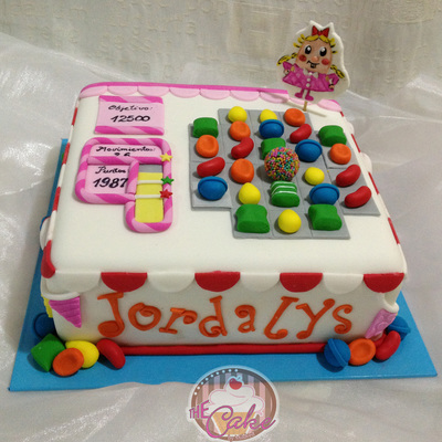 Another Candy Crush Saga Cake