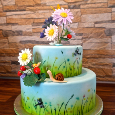 Summer Meadow Cake