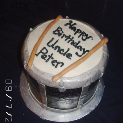 Drum Cake Decorating Photos