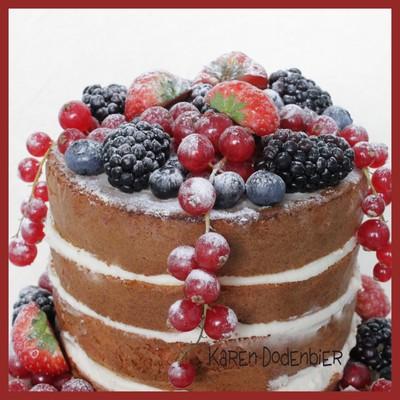 Fruit Cake Decorating Photos