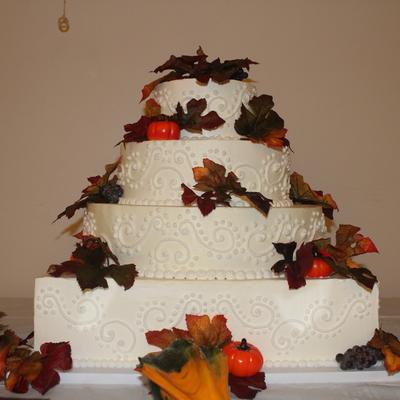 Square Cake Decorating Photos