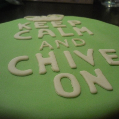 Chive Birthday Cake
