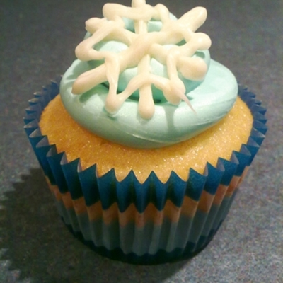Winter Wonderland Cupcake