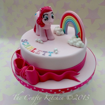 My Little Pony 'pinkie Pie' Cake.