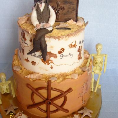 Superb Caribbean Cake Decorating Photos Funny Birthday Cards Online Aeocydamsfinfo