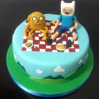 finn and jake cake finn and jake cake
